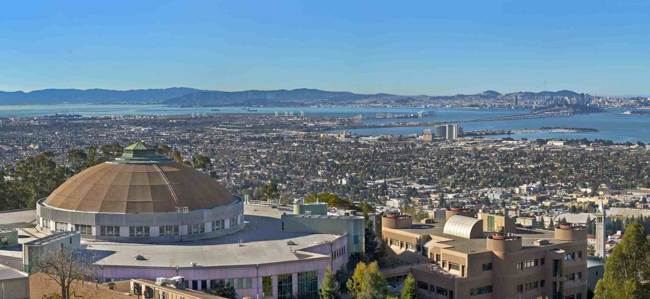 View of Berkeley from the Lawrence Berkeley National Laboratory